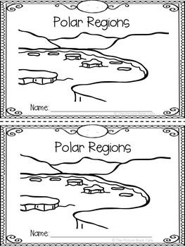 Polar Regions Emergent Reader