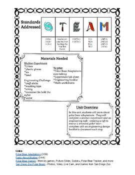 Polar STEAM Unit - 2nd-3rd Grade