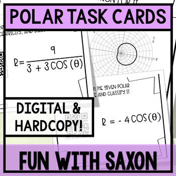 Polar Task Cards! (GOOGLE SLIDES VERSION INCLUDED!)
