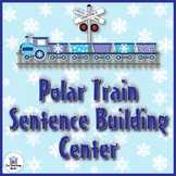 Winter Train Sentence Building Literacy Center