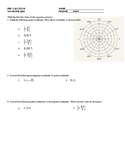 Polar Worksheet