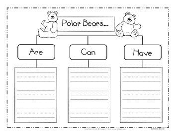 Polar Writing Unit with craftivities