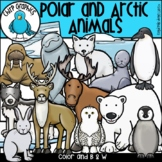 Polar and Arctic Animals Clip Art Set - Chirp Graphics