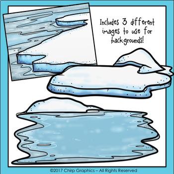 Polar and Arctic Animals Clip Art Set - Chirp Graphics