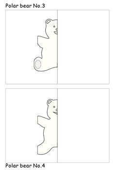 Polar bear Craft Pop-up Cards
