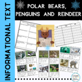 Winter Activities Animals of the Polar Region Polar Bears, Reindeer and Penguins