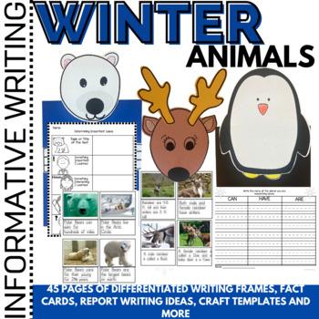 Winter Activities Animals of the Polar Region Polar Bears, Reindeer and Penguins