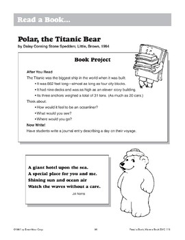 Polar, the Titanic Bear