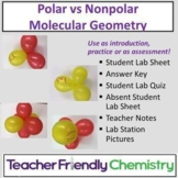 Chemistry Activity: Polar and Nonpolar Molecules