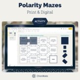 Polarity Chemistry Worksheet Mazes Activities - Print and