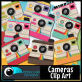 Camera Clip Art: Vintage, Retro - Cute Cameras for your Resources