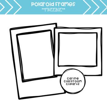 Polaroid Frames Clipart *Freebie*