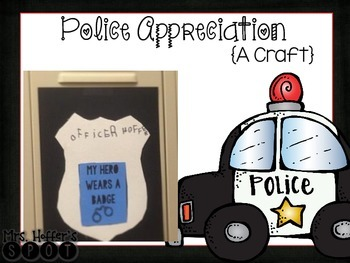 Police Badge Craft