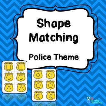 Police Badges Shape Matching