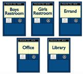 Police Box Hall Pass Set