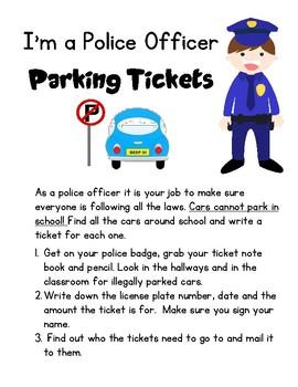 Police Center: Parking Tickets