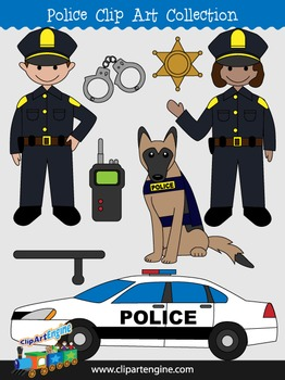 Police Clip Art Collection