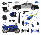 Police Clip Art - Cop Digital Graphics