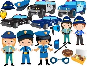 Police Clip Art - toy car cars baby, police man policeman badge heroes cop-051-