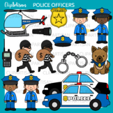 Police Clip Art, Police Officers
