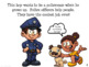 Police Community Helpers Early Reader Speech Therapy AAC/PECS