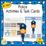 Police Count and Clip Task Cards