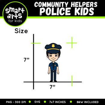 Police Digital Clip Art