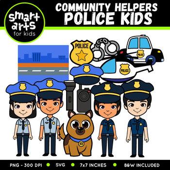 Police Digital Clipart