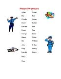 Police/Fire Radio Phonetics