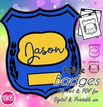 Police Officer Badges