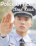 Community Helpers: Police Officer Close Read