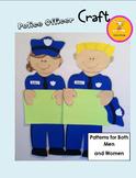 Police Officer Craft Bulletin Board