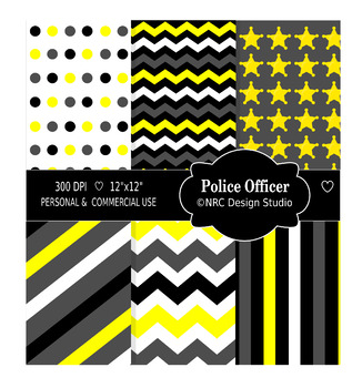 Police Officer Paper Pack