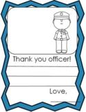 Police Officer / School Resource Officer Appreciation Lett