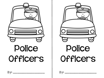 Police Officers {Interactive Reader}