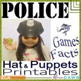 Police Hat - Police Printables
