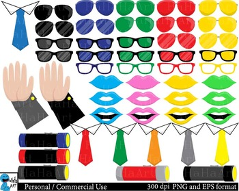 Police Props - set Clipart Digital Personal Commercial Use 173 images cod182