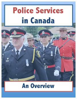 Police Services in Canada // An Overview
