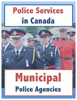 Police Services in Canada // Municipal Police Agencies