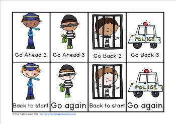 Police Sight Word Race