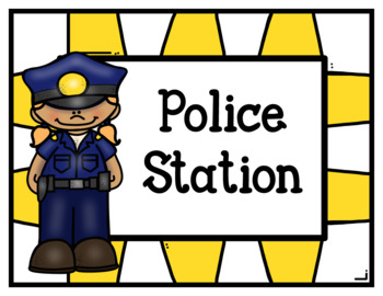 Police Station (Dramatic Play) Color Version-Free