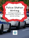 Police Station Field Trip Writing