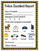 Police Station-Full Pack (Dramatic Play)