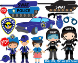 Police Swat Team Clip Art toy car community heroes cop army Tank gun officer 148