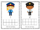 Police Ten Frame Fill-in {Dollar Deal}