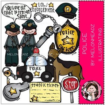 Police clip art - by Melonheadz