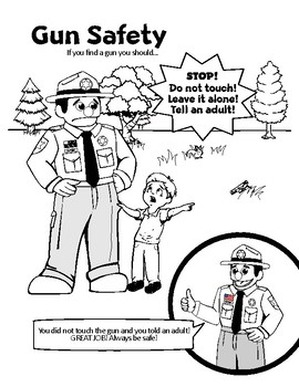 Police or Sheriff safety packet