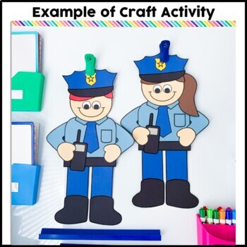 Policeman Cut and Paste