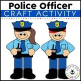 Community Helper Craft {Police Officer}
