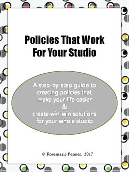 Policies That Work For Your Studio